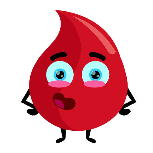 boto coagulos de sangre por el ano