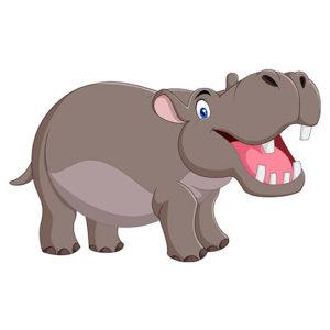 soñar con hipopótamo